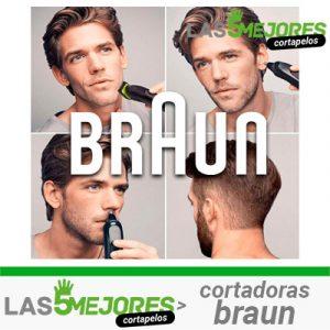 Mejores cortapelos Braun